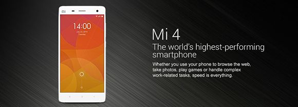 Xiaomi Mi4 64GB to be sold for Rs. 23,999/-